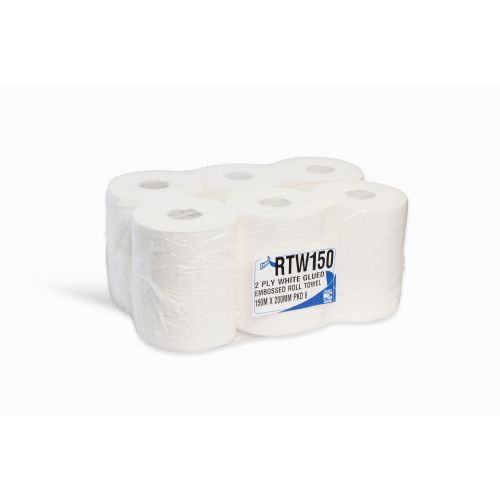 Continuous Roll Hand Towel 110M 2ply 6 Rolls