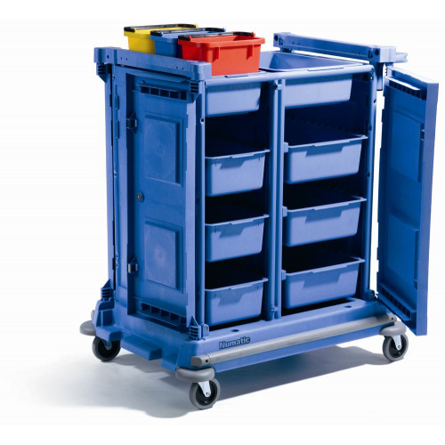NCG4000 Enclosed Janitorial Trolleys - VersaClean Numatic