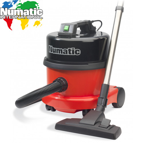 Numatic NVQ200 Vacuum Cleaner With Steel Head- Commercial