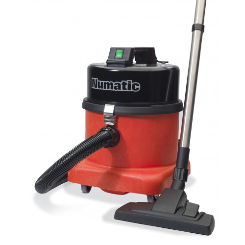 Numatic NVQ380 Tough Vacuum Cleaner, Steel Head - Commercial