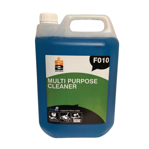 Multi-Purpose Hard Surface & Floor Cleaner F010 5 Litre Selden