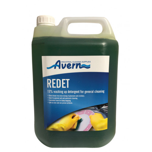 Redet Detergent for Dish Washing C016 5 Litre Selden