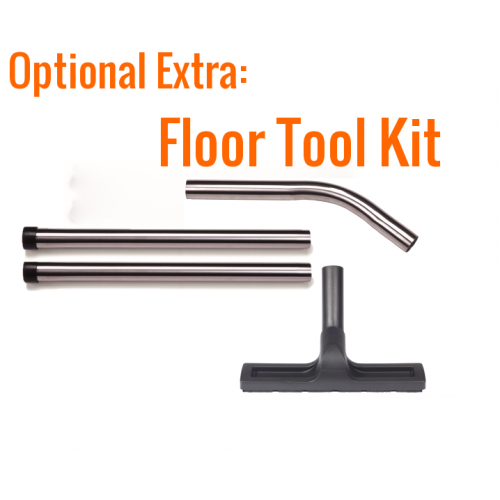 H Class 32mm Dry Stainless Steel Floor Wand Kit - Numatic