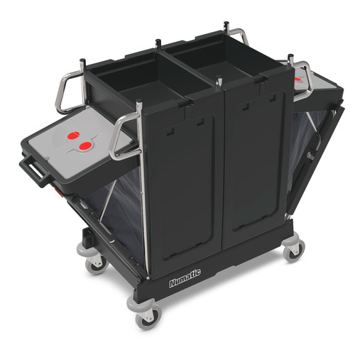 PM12 Pro Matic Janitorial Trolley - Numatic