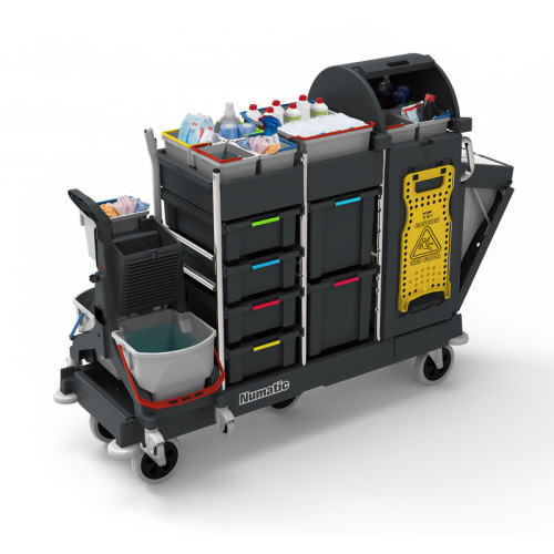 PM30 Pro Matic Janitorial Trolley - Numatic