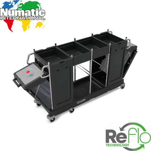 PM32 Pro Matic Janitorial Trolley - Numatic