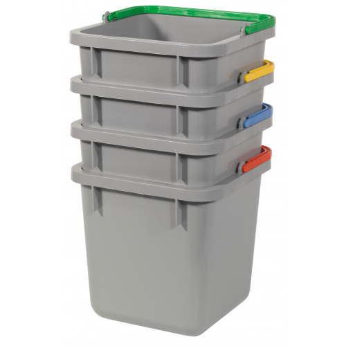 6-litre Pail without Lid, Red / Green / Blue / Yellow - Numatic
