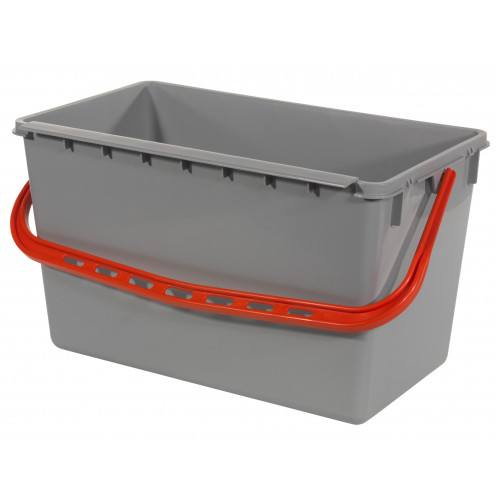 15 & 22 Litre Wide Buckets in Red, Green, Blue & Yellow Numatic