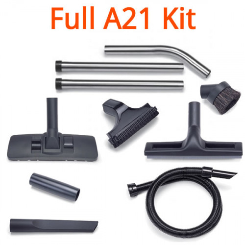 A21 32mm Stainless Vacuum Accessory Kit 607321 Genuine Numatic