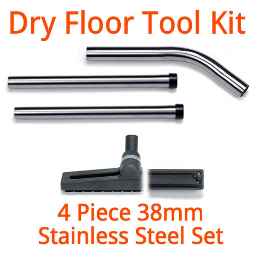 38mm Dry Stainless Steel Floor Wand Kit - Numatic