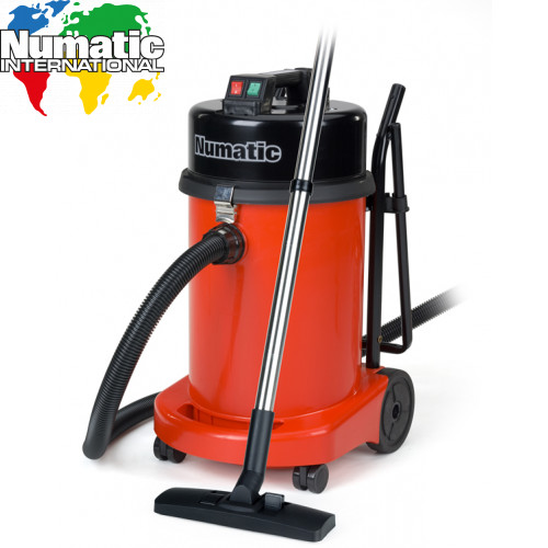 Numatic NVQ470 Vacuum Cleaner With Steel Head - Commercial