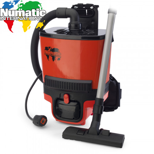Numatic RSB140 Cordless Back Pack Battery Vacuum Cleaner