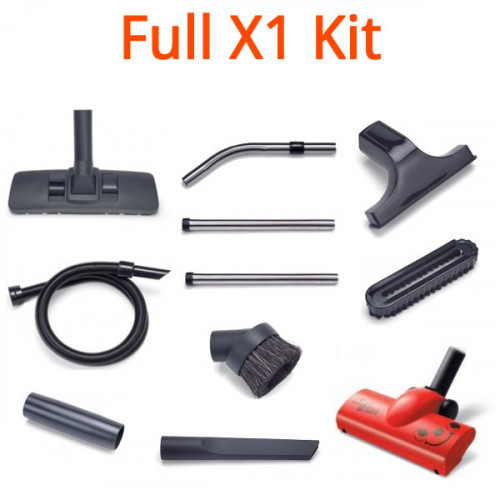 X1 Full 32mm Vacuum Cleaner Accessory Kit 607170 Genuine Numatic