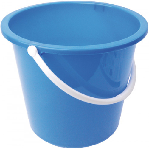 Plastic Bucket With Handle 10 Litre - Robert Scott