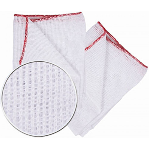 Large Bleached White Dish Cloth 10 Pack - Robert Scott