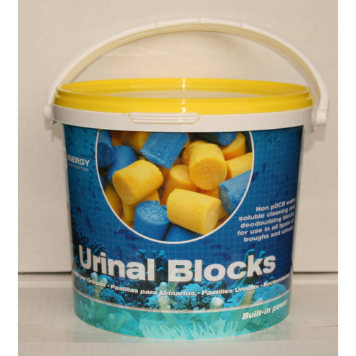 Yellow Urinal Blocks / Channel Cubes 3 Kilo