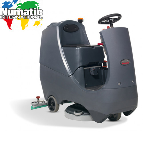 CRG8055/120T Compact Ride On Scrubber Dryer Numatic