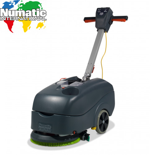 TT1840G Micro Twintec Scrubber Dryer Cable Powered - Numatic