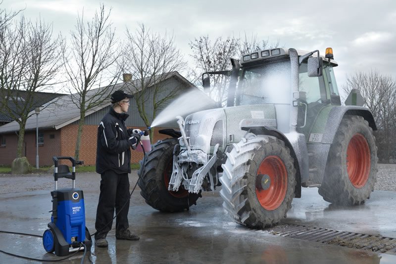 Nilfisk Alto MC 3C XT Pressure Washer In Use