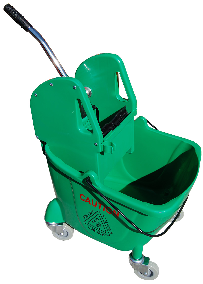 Mop Bucket Green Bison